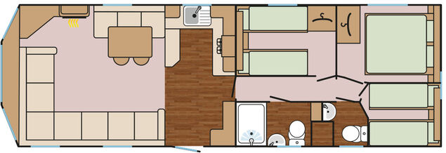 Kestrel (3 Bedroom) Floorplan