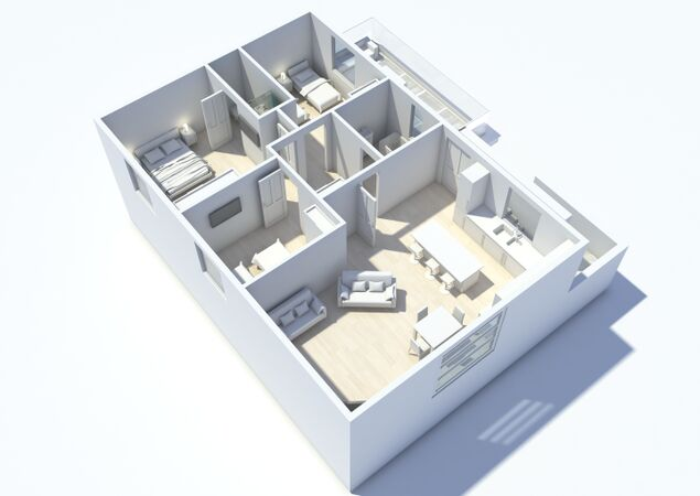 Breakwater Dog Friendly Floorplan